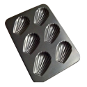 Nonstick Madeleine Pan 6 Cup