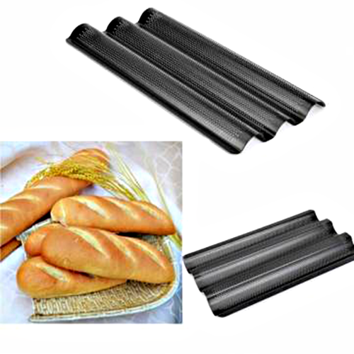 Nonstick Perforated French Bread Pan