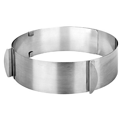 Adjustable Stainess Steel Round Mousse Cake Ring