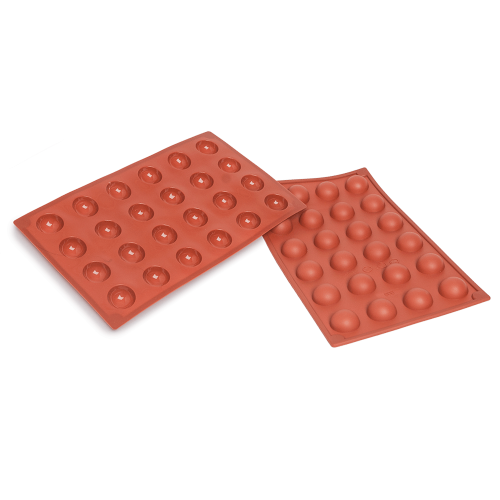 Half Spheres Silicone Baking Mould 24-Cavity 9ML