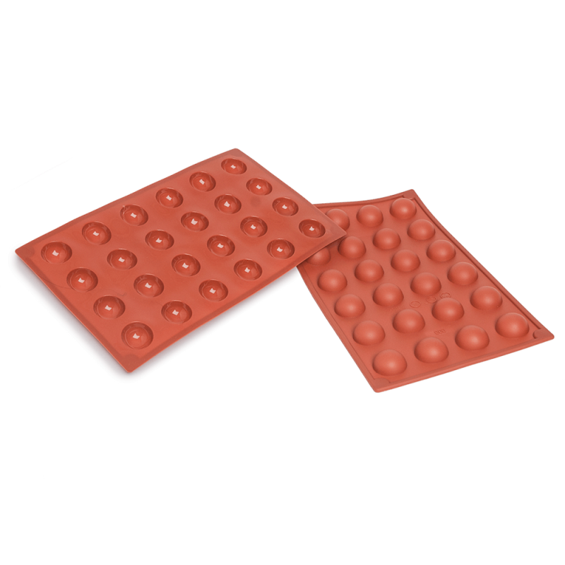 Half Spheres Silicone Baking Mould 24-Cavity 9 ML
