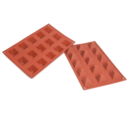 Pyramid Silicone Baking Mould 15-Cavity 20,7ML
