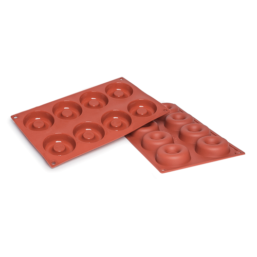 Savarin Silicone Baking Mould 8-Cavity 50ML