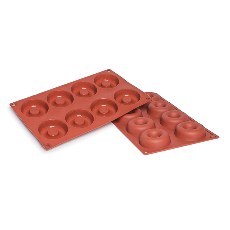 Savarin Silicone Baking Mould 8-Cavity 50 ML