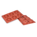 Savarin Silicone Baking Mould 6-Cavity 62ML