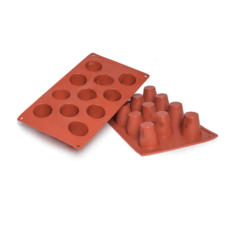 Baba Silicone Baking Mould 11-Cavity 50,3 ML