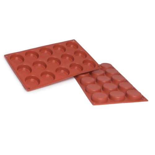 Flan Silicone Baking Mould 15-Cavity 20,7 ML