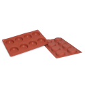 Flan Silicone Baking Mould 8-Cavity 41ML