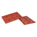 Flan Silicone Baking Mould 6-Cavity 53ML