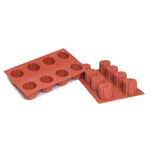 Bordelais Silicone Baking Mould 8Cavity 91,7 ML
