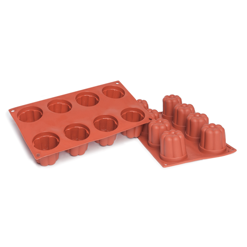 Bavarese Silicone Baking Mould 8-Cavity 130ML