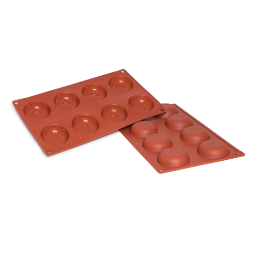 Krapfen Donut Silicone Baking Mould 8-Cavity 41,4 ML