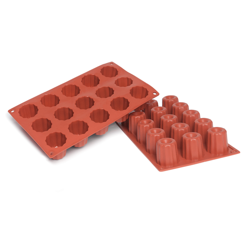 Bordelais Silicone Baking Mould 15-Cavity 59,1 ML