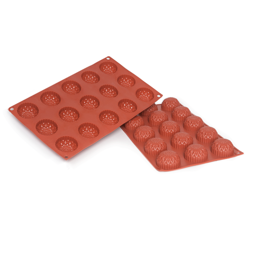Dahlia Silicone Baking Mould 15-Cavity 23,6 ML