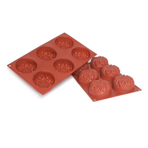 Sunflower Silicone Baking Mould 6-Cavity 115ML