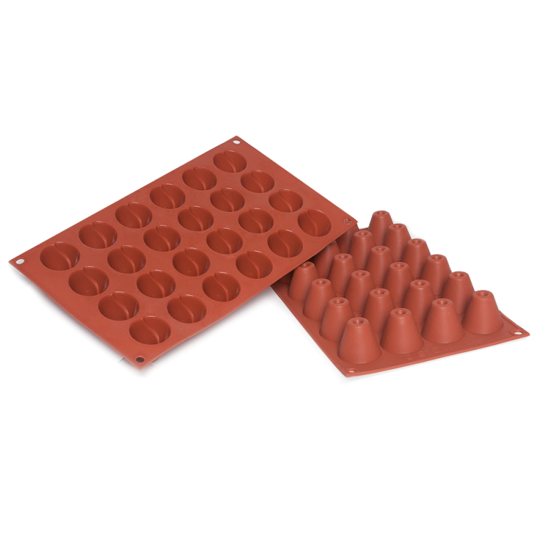 Volcano Silicone Baking Mould 24-Cavity 15ML