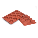 Snowflake Silicone Baking Mould 11-Cavity 53ML