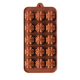Four Leaf Clover Silicone Chocolate Mould