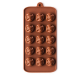 Roses Silicone Chocolate Mould 15-Cavity