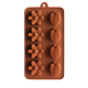 Tuilp and Daisy Silicone Chocolate Mould 8-Cavity