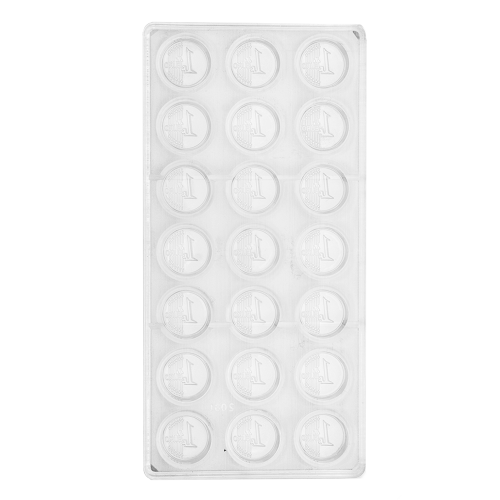Euro Dollar Polycarbonate Chocolate Mould