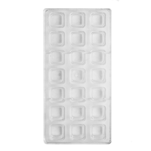 Square Polycarbonate Chocolate Mould