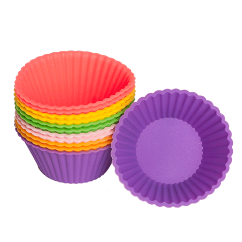 Silicone Baking Cupcake Standard Set Of 12