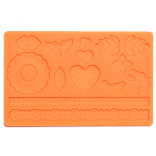 Folk Fondant and Gum Paste Mould