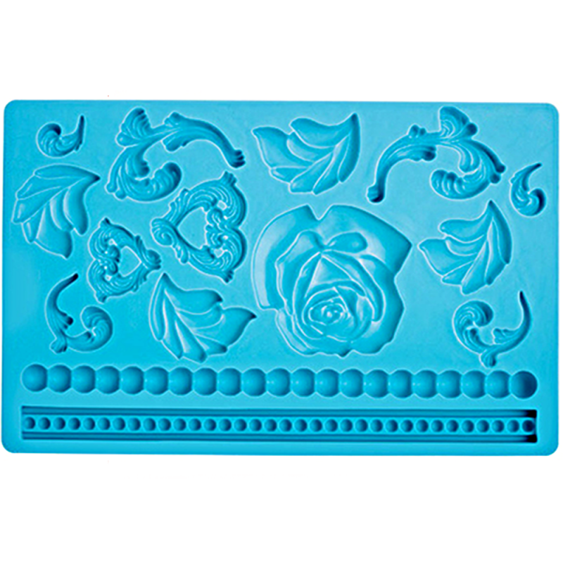 Baroque Fondant and Gum Paste Mould