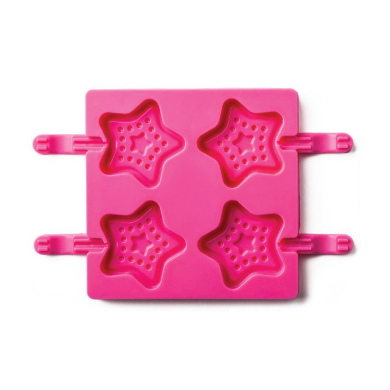 Star Shape Silicone Lollipop Mould