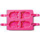 Present Shape Silicone Lollipop Mould